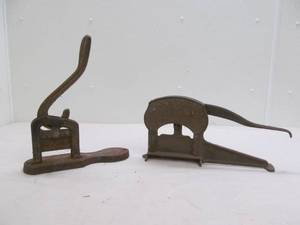 Antique tabaco cutters