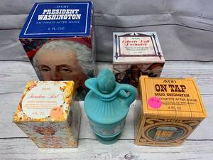 Lot of 5 Vintage Avon Items (many of these Avon Items sell on Ebay from $5-38)