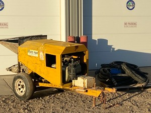 Towable Concrete Pump