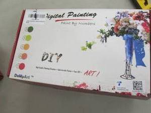3 Digital Paint by Number Kits...