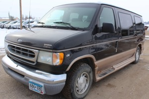 2002 Ford E150 Conversion Van - 1 Owner -