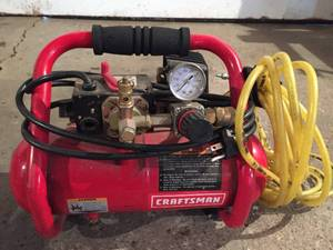 Craftsman One Gallon Air Compressor