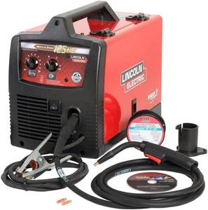 Lincoln Electric Weld Pak 125 HD Wire-Feed Welder in good conditions