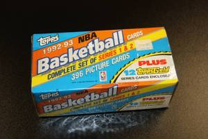 1992-93 Topps Basketball Factory Sealed Set | Shaquille O'Neal Rookie Card