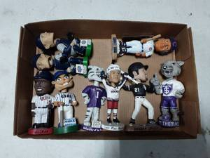 Collection Of MN Twins & Other Bobble Heads