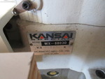 KANSAI COMMERCIAL SEWING MACHINE WITH INDUSTRIAL SEWING TABLE