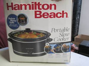 5Qt. Portable Slow Cooker/Crock Pot...
