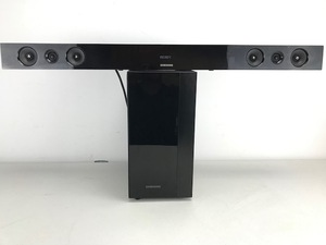 Samsung Soundbar and Wireless Subwoofer Combo