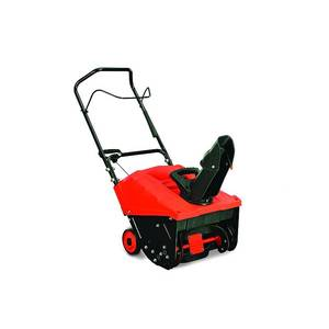 "YARDMAX YB4628 Single Stage Snow Thrower, 87cc, 18"" IN GOOD CONDITIONS"