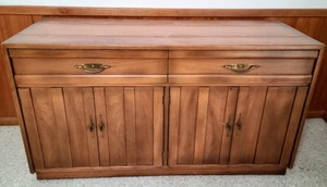 Vintage Wood Buffet