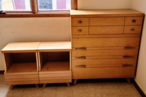 MCM Dresser And Nightstands