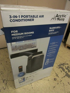 ARCTIC KING 3-IN-1 PORTABLE AIR CONDITIONER - NEW