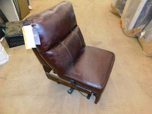 Armless Powered Recliner (Jaleco Chocolate)
