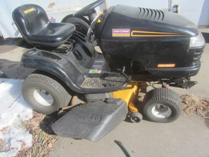 Lawn tractor & snowblower, Craftsma...