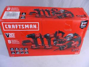 New Craftsman 7 Tool Lithium Ion Combo Kit
