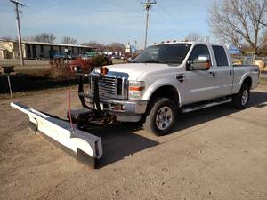 2008 Ford F-350 Super Duty Plow Truck