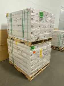 BLUE RIDGE HARDWOOD FLOORING Lot of 46 Cases of-  Oak Shale 3/4 in. Thick x 3 in. Wide x Varying Length Solid Hardwood Flooring (18 sq. ft. / case).  Retail Price is $64.62 Per Box