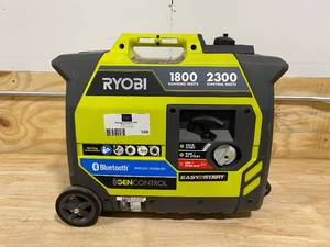 RYOBI 2,300-Watt Recoil Start Bluetooth Super Quiet Gasoline Powered Digital Inverter Generator with CO Shutdown Sensor
