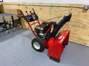 TROY-BILT Storm 30 in. 357cc Two-Stage Electric Start Gas Snow Blower with Power Steering and Heated Grips