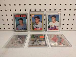 Roger Clemens 6 Card Lot with Autograph