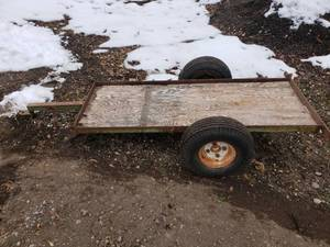 Small Trailer for a Garden Tractor?