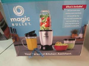 Magic Bullet open box Retail $89.99...