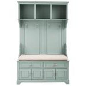 Sadie Antique Blue Double Hall Tree by Home Decorators Collection Product Images not used