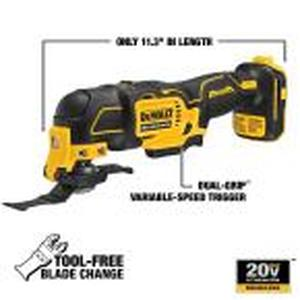 ATOMIC 20-Volt MAX Lithium-Ion Brushless Cordless Oscillating Tool (Tool-Only)