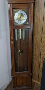 "Hermle ""Piper"" Grandfather clock w/Westminster Chime"