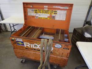 Rigid Job Site Tool Box with Lifting Sling