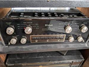 Vintage McIntosh C28 Stereophonic Preamplifier