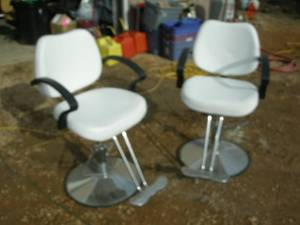 Matching Pair Salon/Shop/Man Cave Chairs