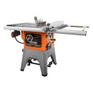 Ridgid 13 Amp 10 in. Professional Cast Iron Table Saw open box