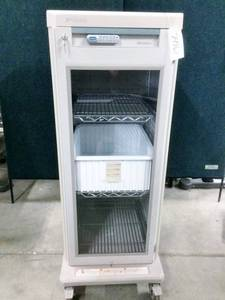 MSRP $5000 Metro Starsys Glass Door Mobile Locking Storage Cabinet With 3 Slide Out Metro Steel Shelves & Storage Bin - Has Lock & Key Plus Key In Code Lock (Sorry No Combination) - Excellent Condition!