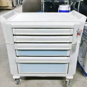 WOW One Just Sold Online For $500 Plus Freight! Metro Flex 5 Drawer Medical Supply Crash Cart Lockable - All Surfaces Walshable - Keep Thinks Safe & Sanitary!  Great Condition!