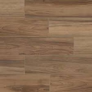 Pallet Assorted of 26 cases of Toffee Wood 6 in. x 24 in. Glazed Porcelain Floor and Wall Tile (14.55 sq. ft. / case) SEE PICS Custmer Returns