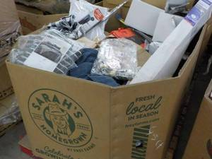Pallet lot of overstock merchandise...