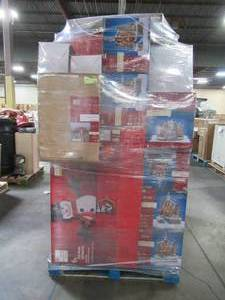 WHOLESALE MIXED PALLET OF CHRISTMAS DECORATIONS!