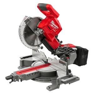 Milwaukee M18 FUEL 18-Volt Lithium-Ion Brushless Cordless 10 in. Dual Bevel Sliding Compound Miter Saw (Tool-Only) open box not used