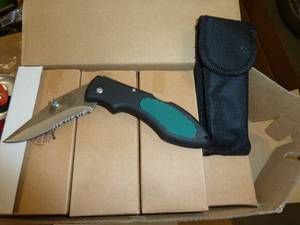 36 new serrated edge knives with po...