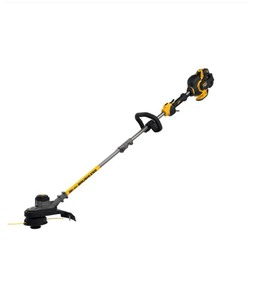 DEWALT 15 in. 60V MAX Lithium-Ion Cordless FLEXVOLT Brushless String Grass Trimmer with (1) 3.0Ah Battery and Charger Included not used See pics!
