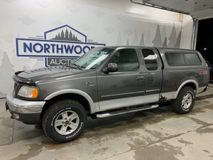 2002 Ford F-150 4x4 -No Reserve-