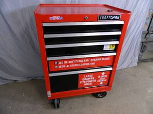 New Craftsman 5 Drawer Tool Box - Scratch and Dent