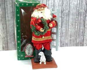 16 Inches Tall - Santa's Workshop Firefighter Santa