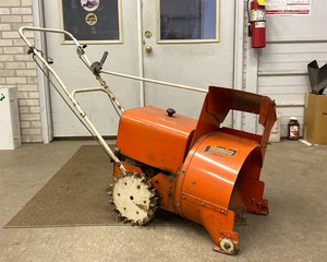 VERY OLD Vintage Homko Snowblower with Briggs Engine