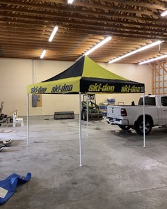 EZ-Up Tent/Shelter, Ski-Doo Branded