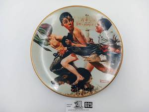 "Norman Rockwell - ""The Streaker""-Limited Edition (Valued @ $30)"