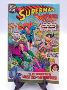 1982 DC Superman And Wonder Woman in The Computer Masters of Metropolis (Vol 3)
