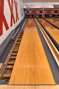"Bowling Lane - 42"" x 60' x 2"" Thick - Wood Only"