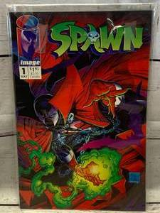 Spawn Issue #1 Comic Book   (Graded these sell for outrageous prices)